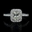 1.46ct Diamond 14k White Gold Ring