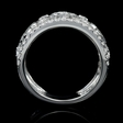1.12cts Diamond 18k White Gold Ring